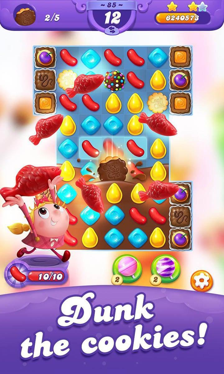 Candy Crush Friends Saga screen 2