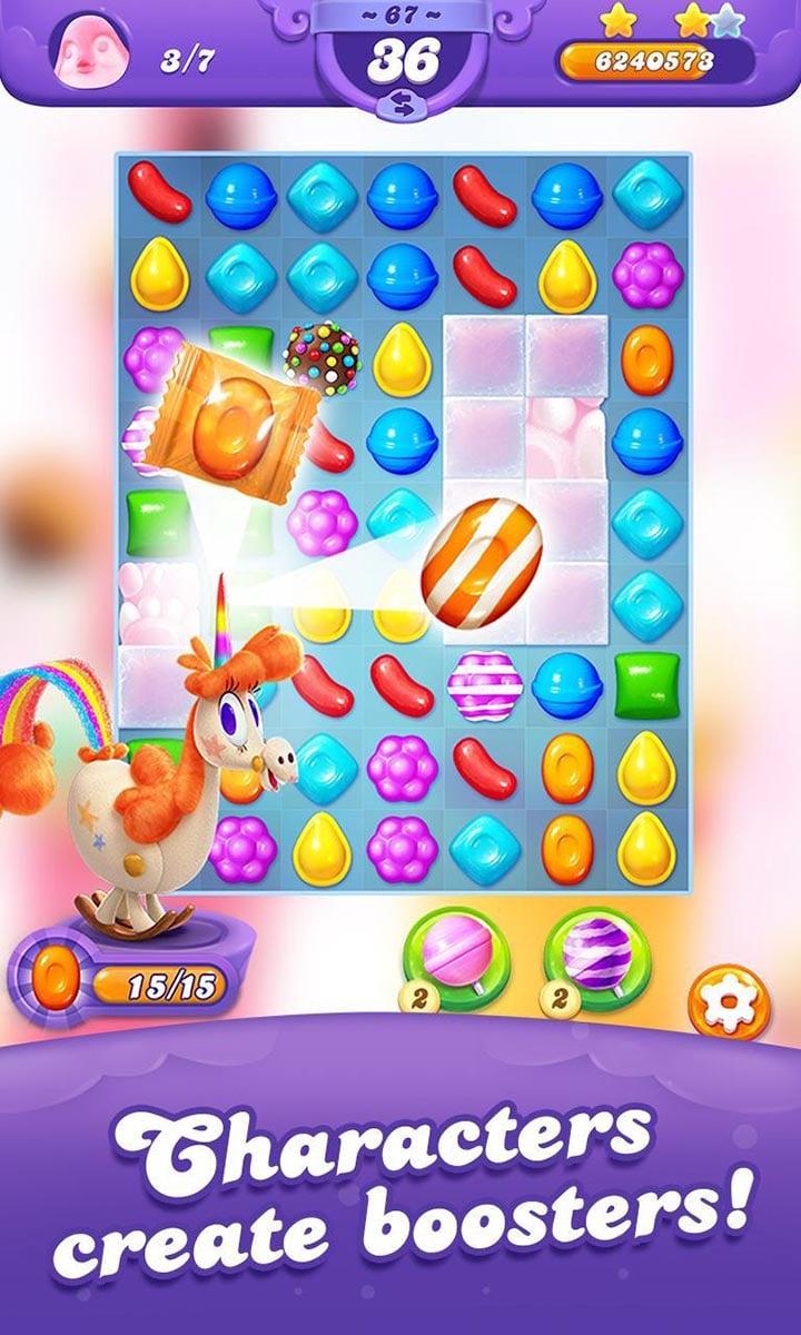 Candy Crush Friends Saga screen 3
