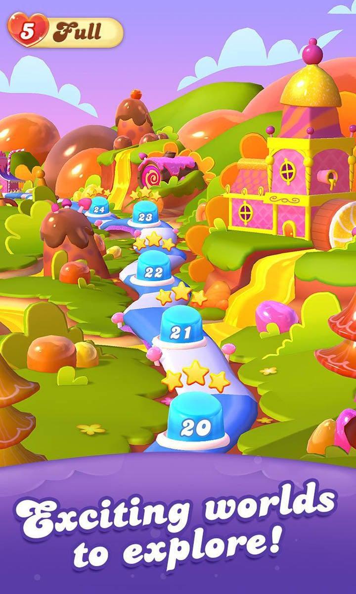 Candy Crush Friends Saga screen 4