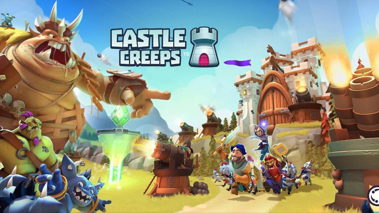Castle Creeps TD poster
