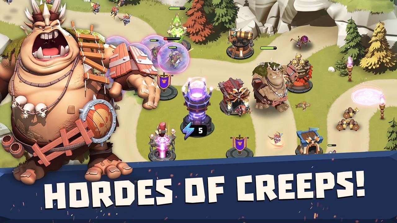 Castle Creeps TD screen 3