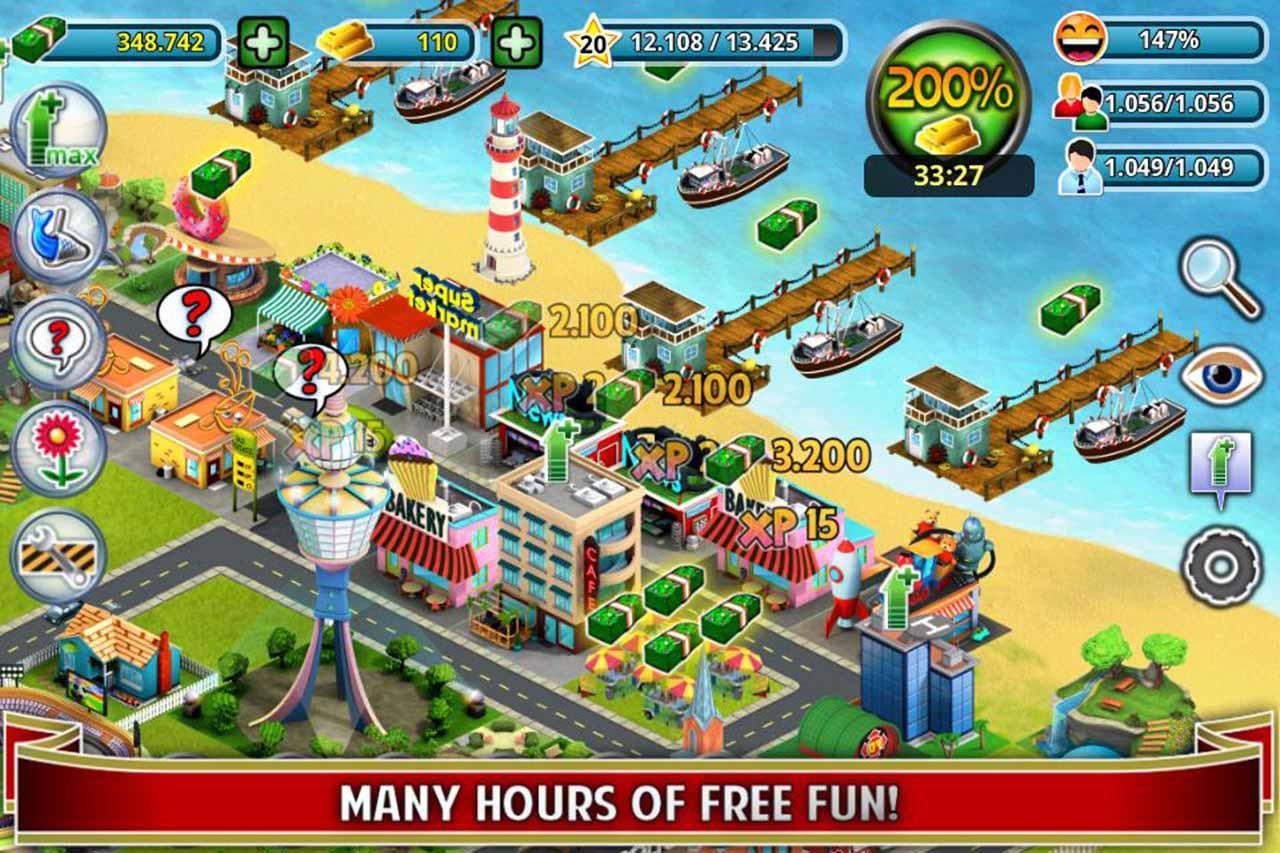 City Island Builder Tycoon screen 2