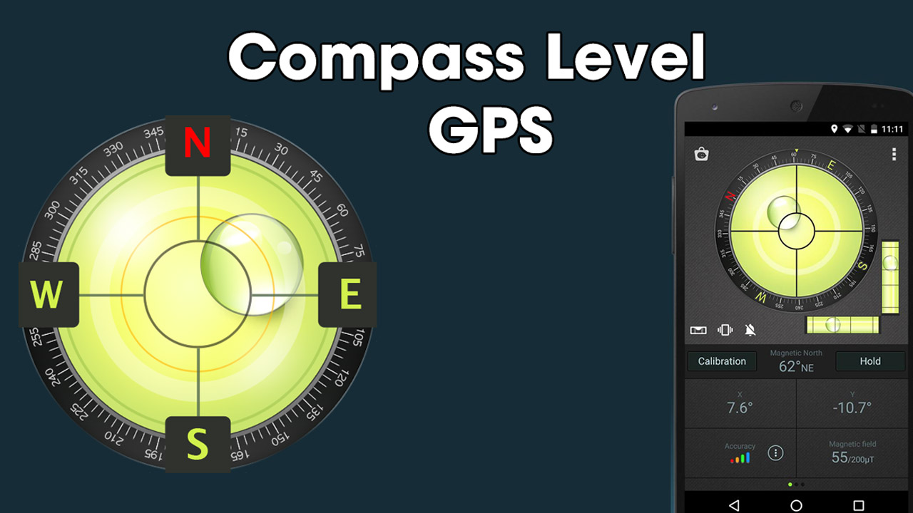 Compass Level & GPS poster