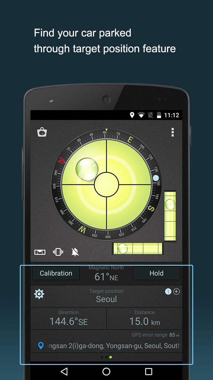 Compass Level & GPS screen 4