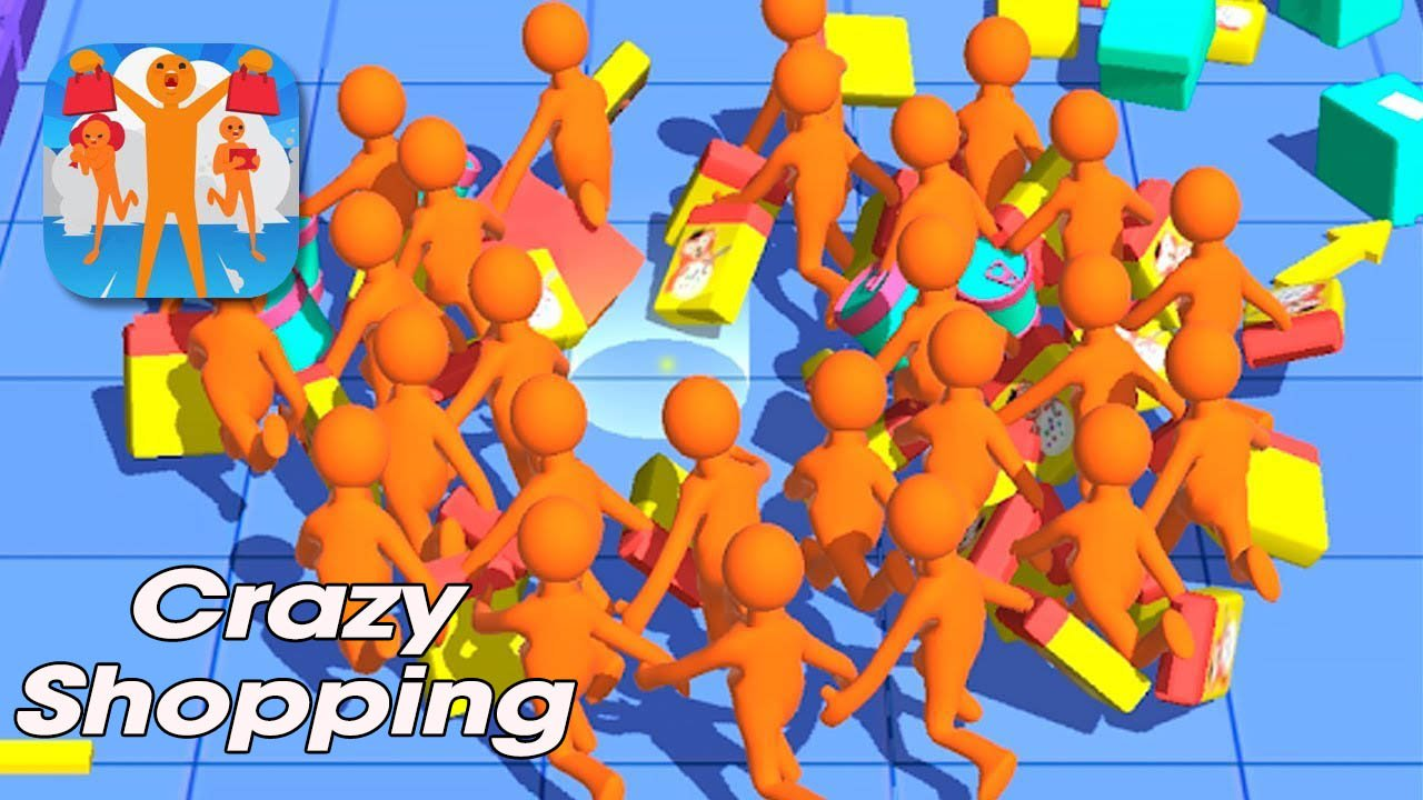 Crazy Shopping poster
