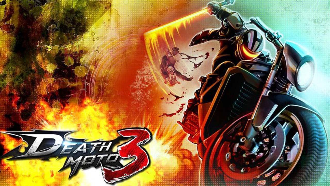 Death Moto 3 poster