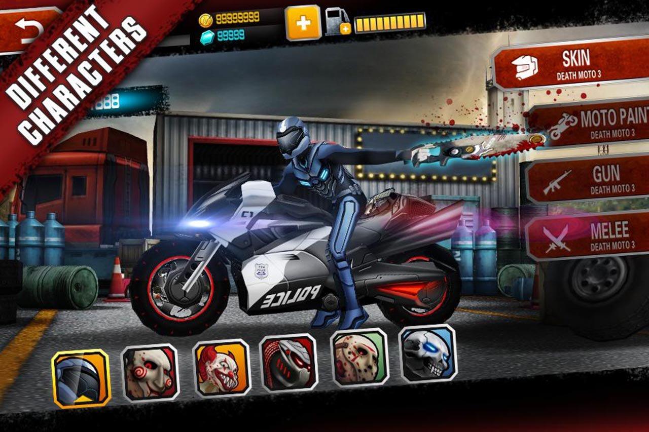 Death Moto 3 screen 0