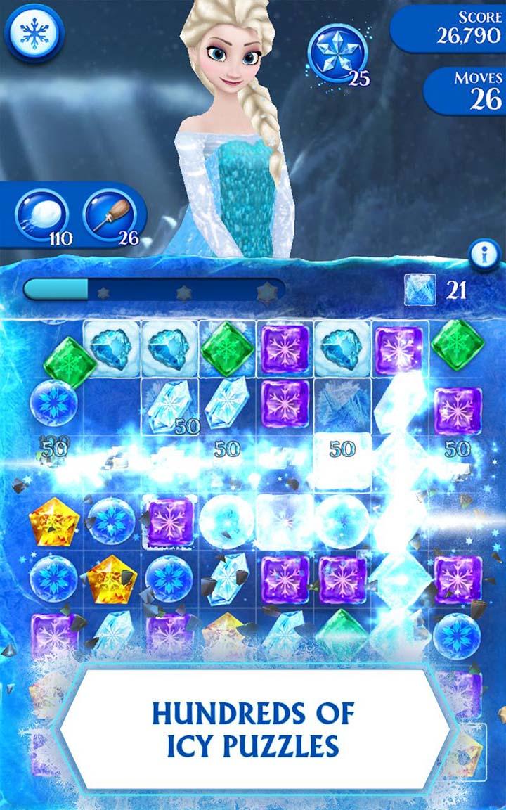 Disney Frozen Free Fall screen 0