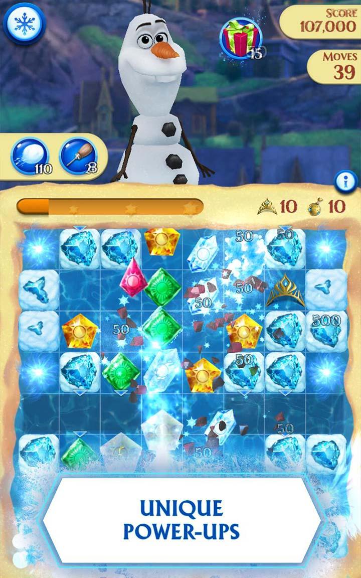 Disney Frozen Free Fall screen 2