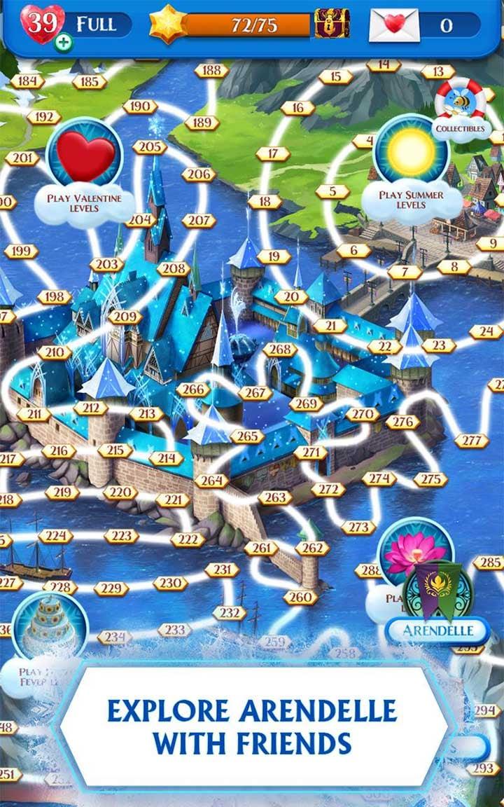 Disney Frozen Free Fall screen 3