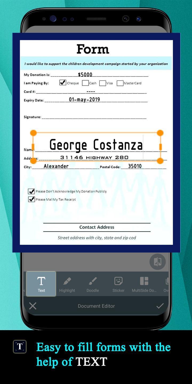 Document Scanner screen 4