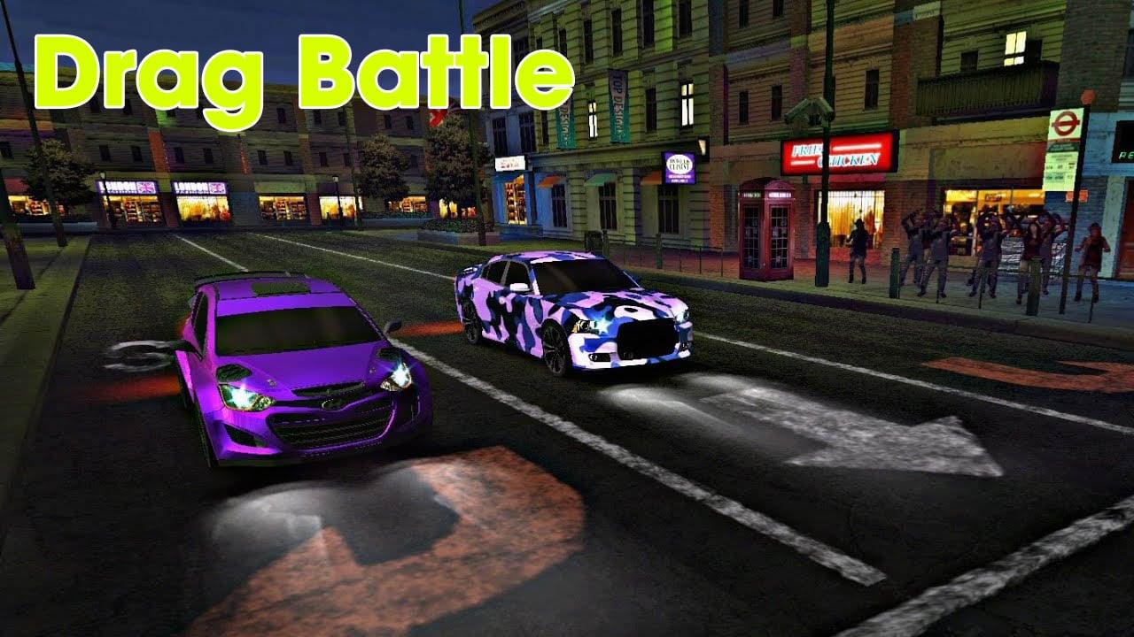 Drag Battle poster
