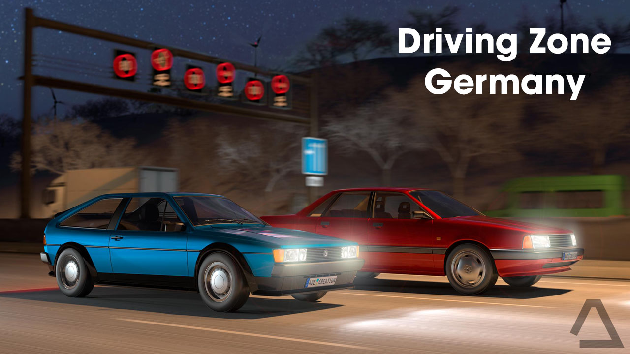 Driving Zone Germany poster