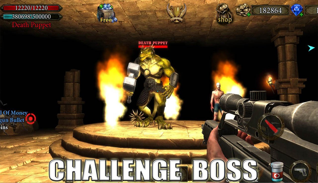 Dungeon Shooter screen 1