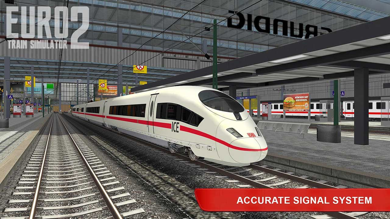 Euro Train Simulator 2 screen 1