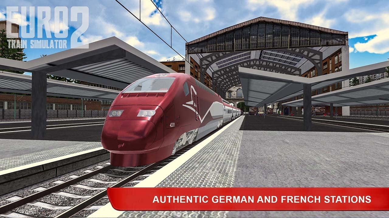 Euro Train Simulator 2 screen 2