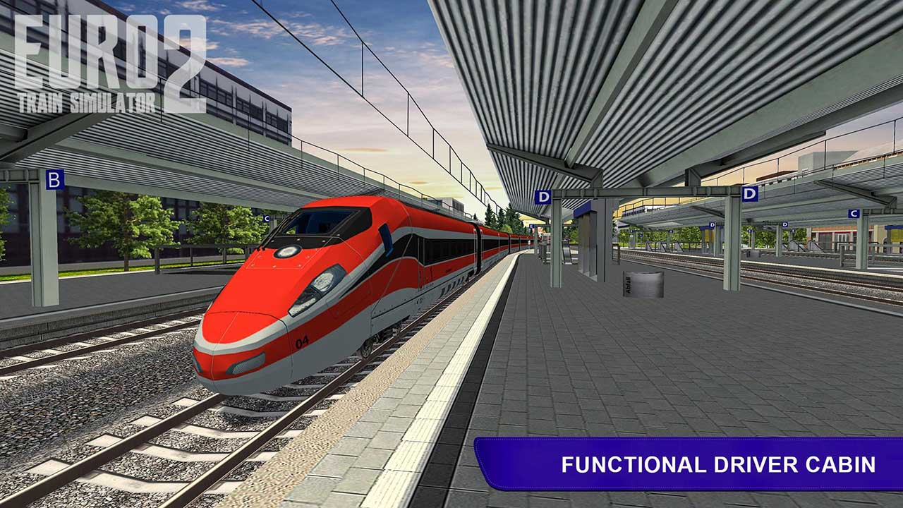 Euro Train Simulator 2 screen 3