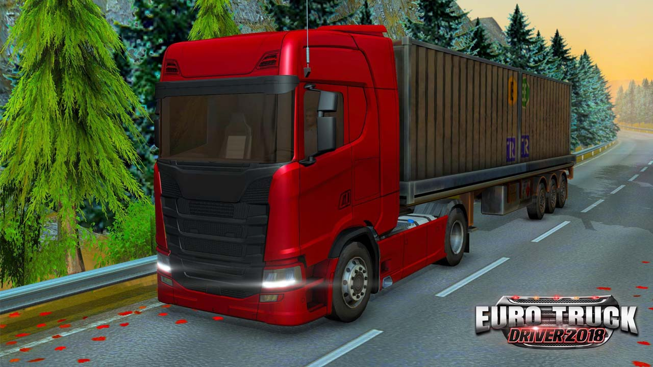 Euro Truck Driver 2018 poster