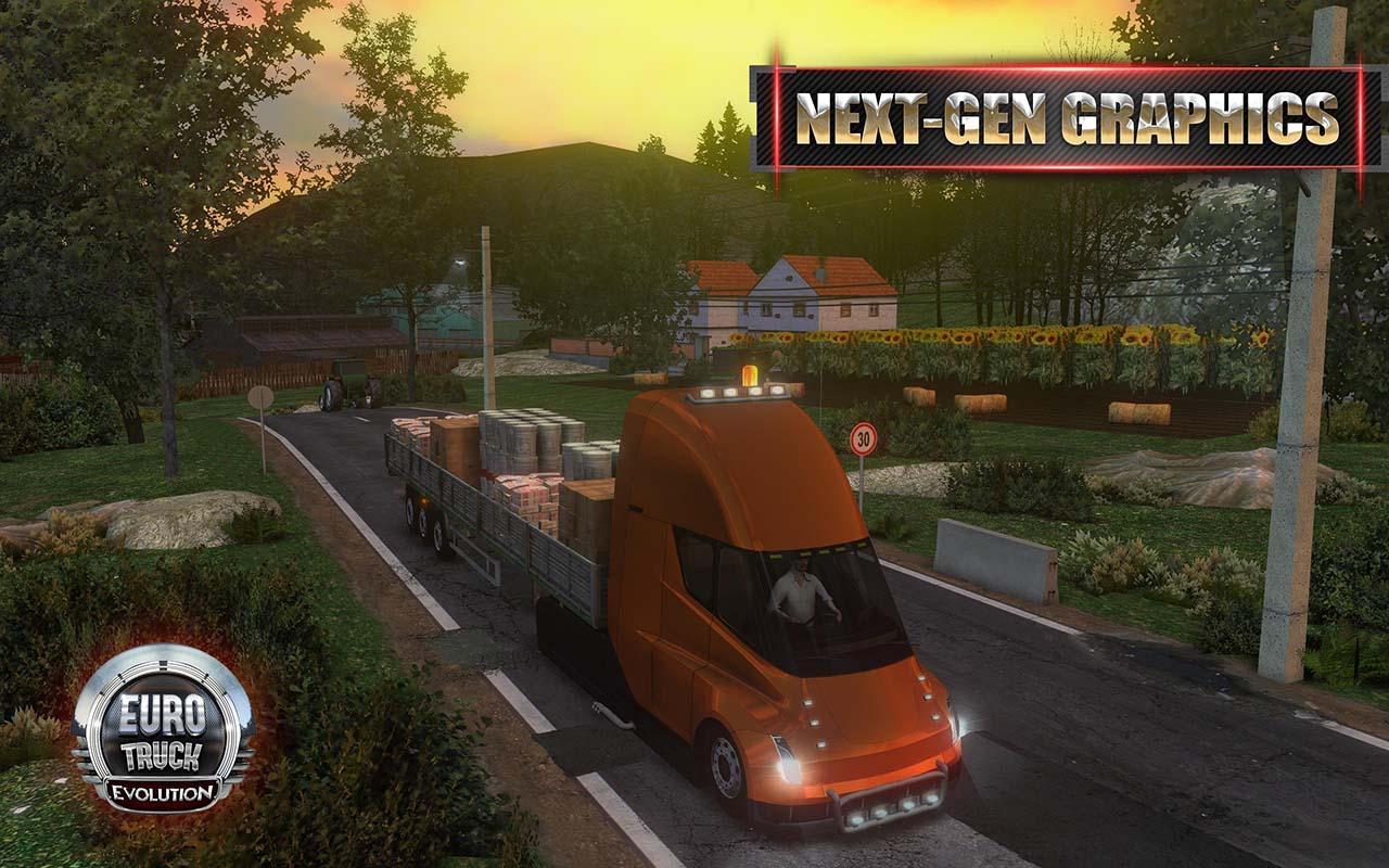 Euro Truck Evolution screen 0