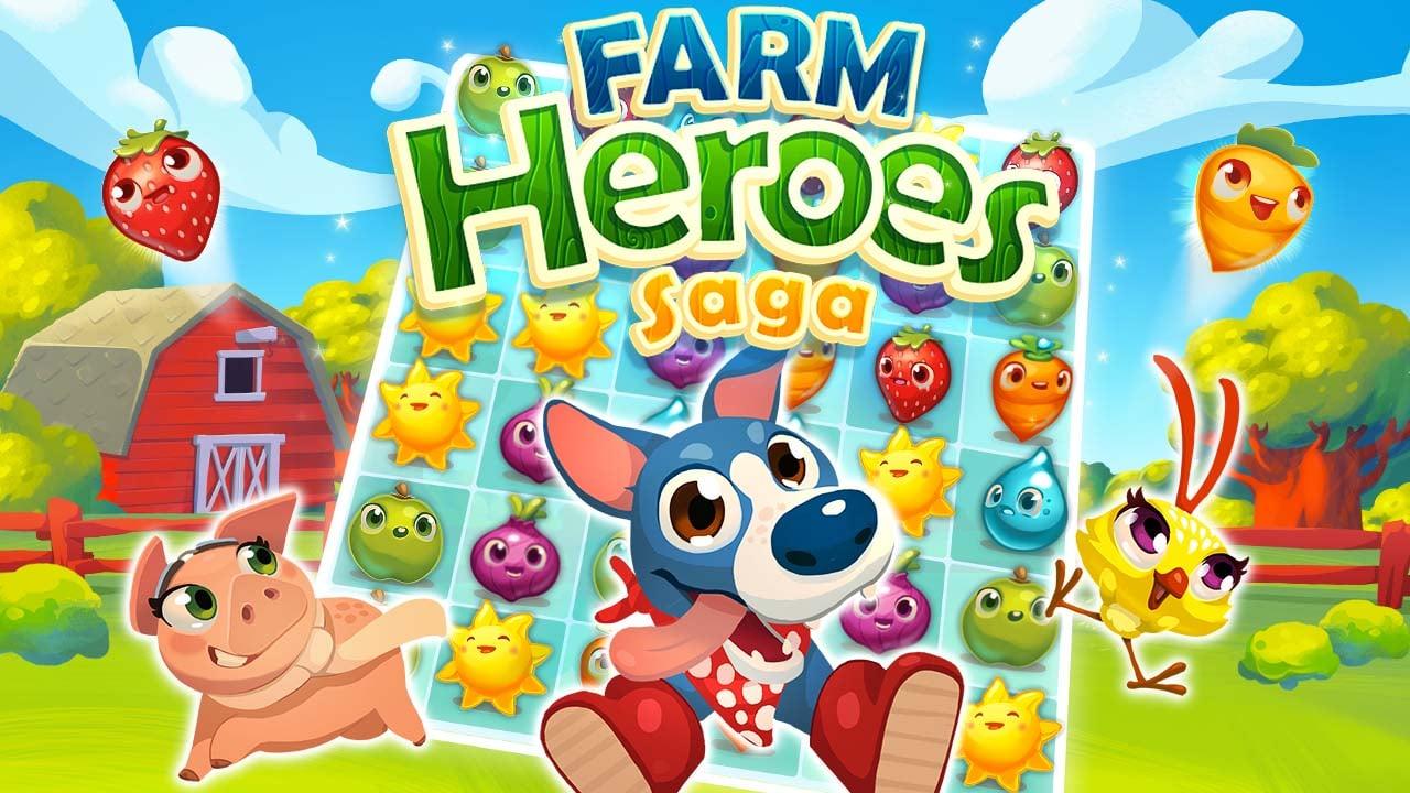 Farm Heroes Saga poster