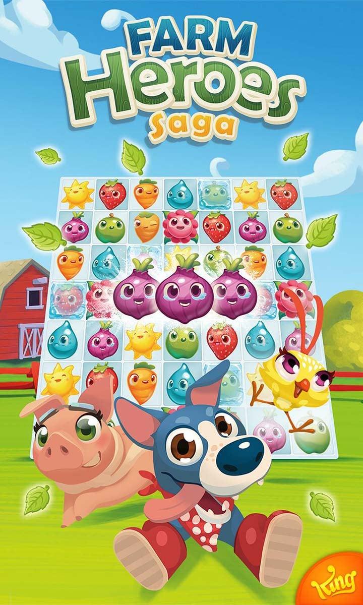 Farm Heroes Saga screen 4