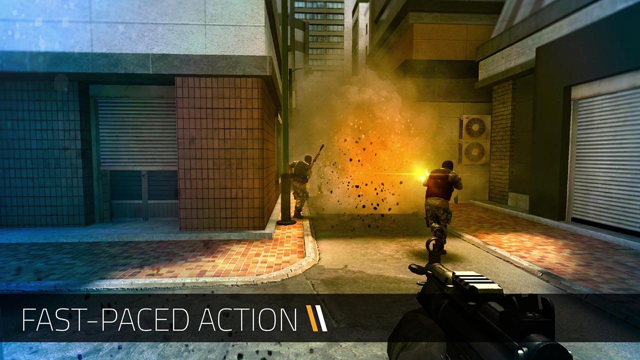 Forward Assault screen 1