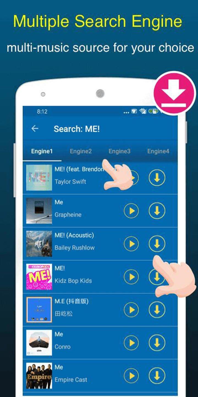 Free Music Downloader screen 2