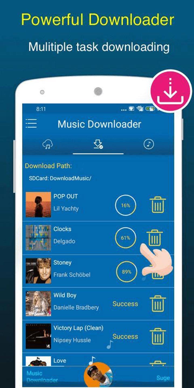 Free Music Downloader screen 3