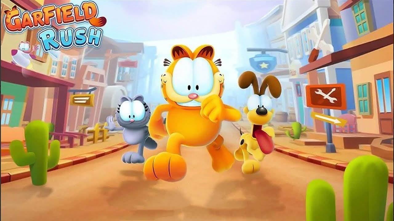 Garfield Rush poster