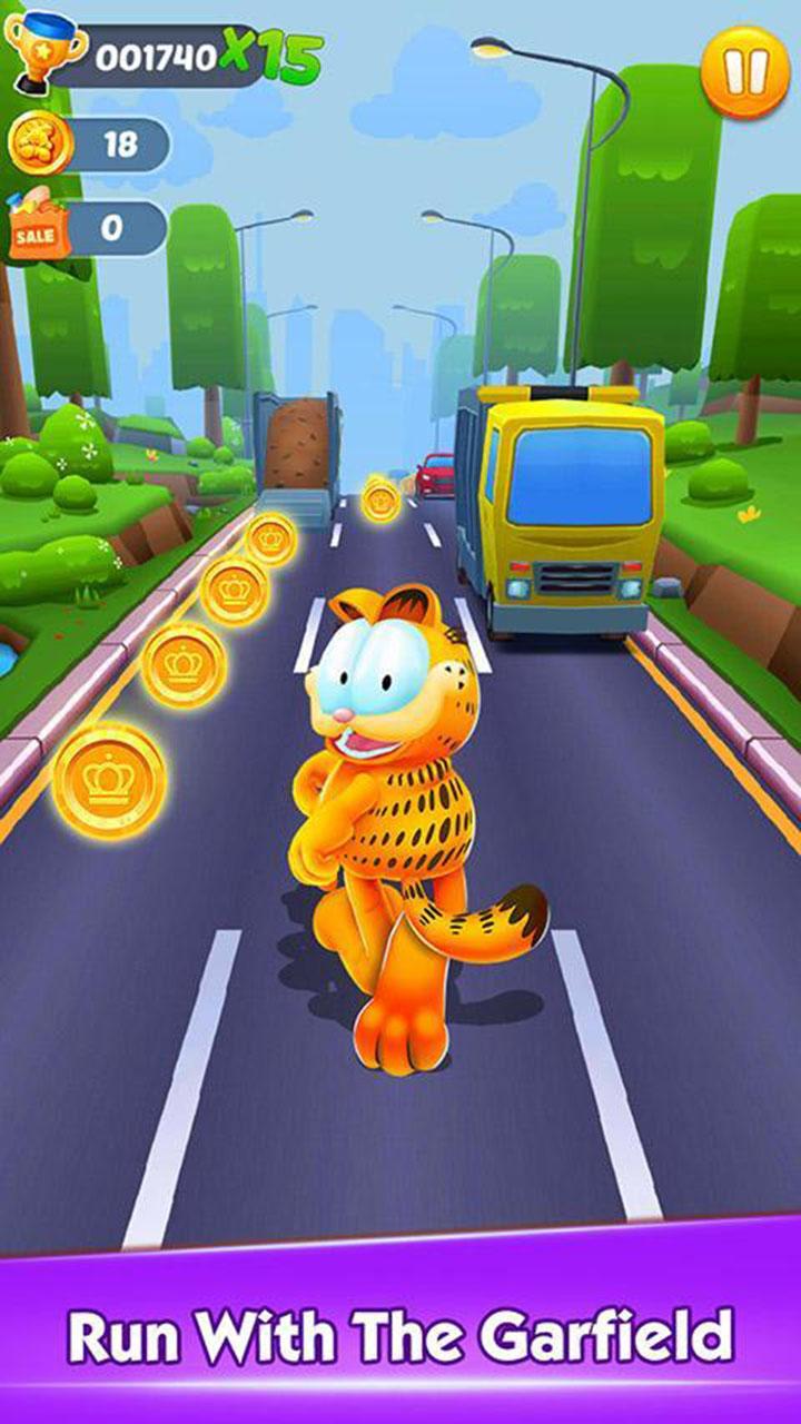 Garfield Rush screen 0