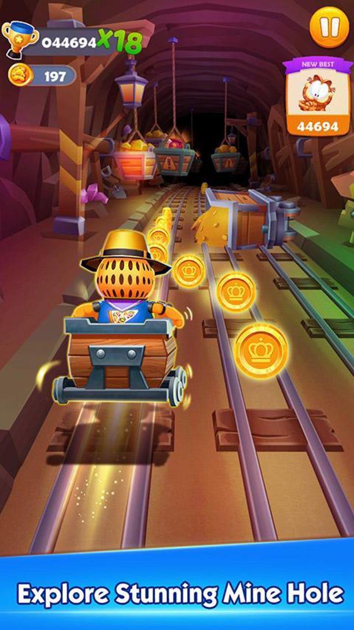 Garfield Rush screen 2