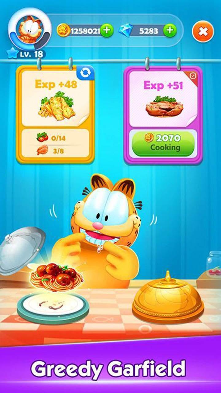 Garfield Rush screen 3