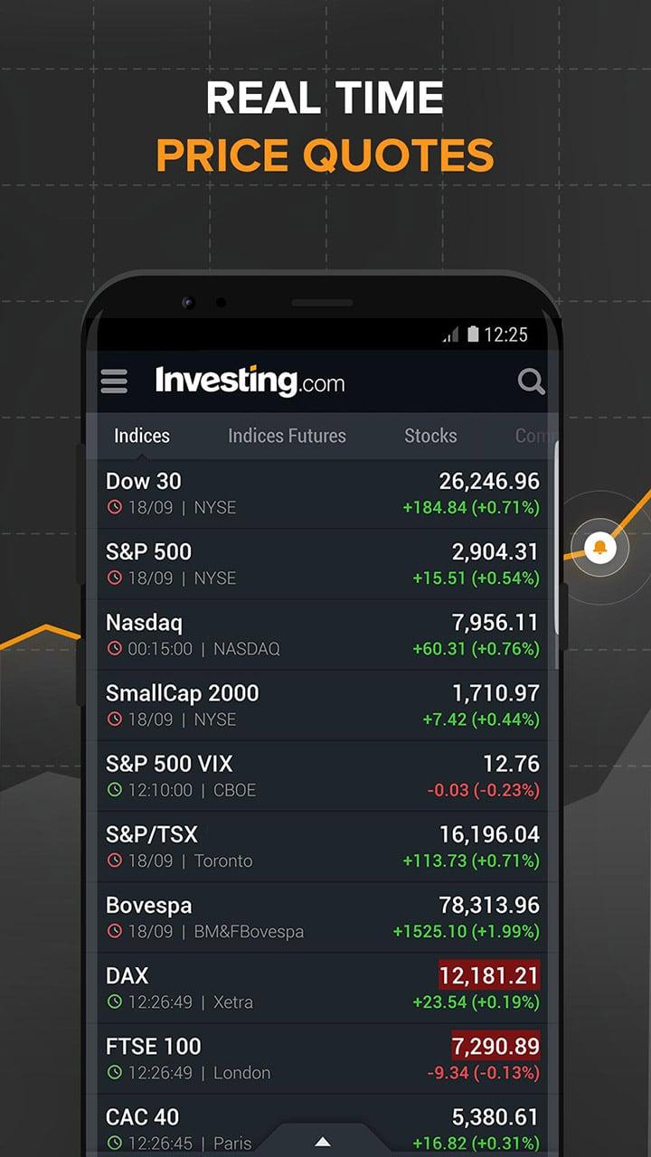 Investing com screen 0