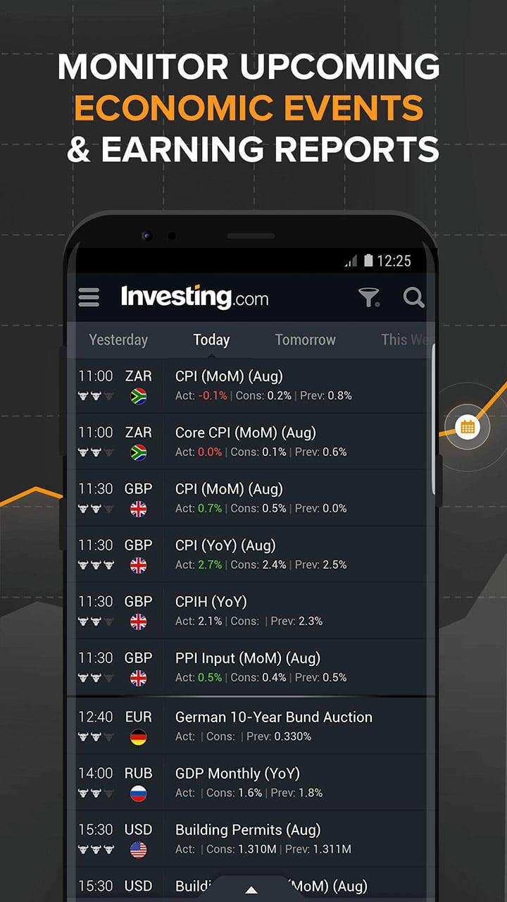 Investing com screen 3