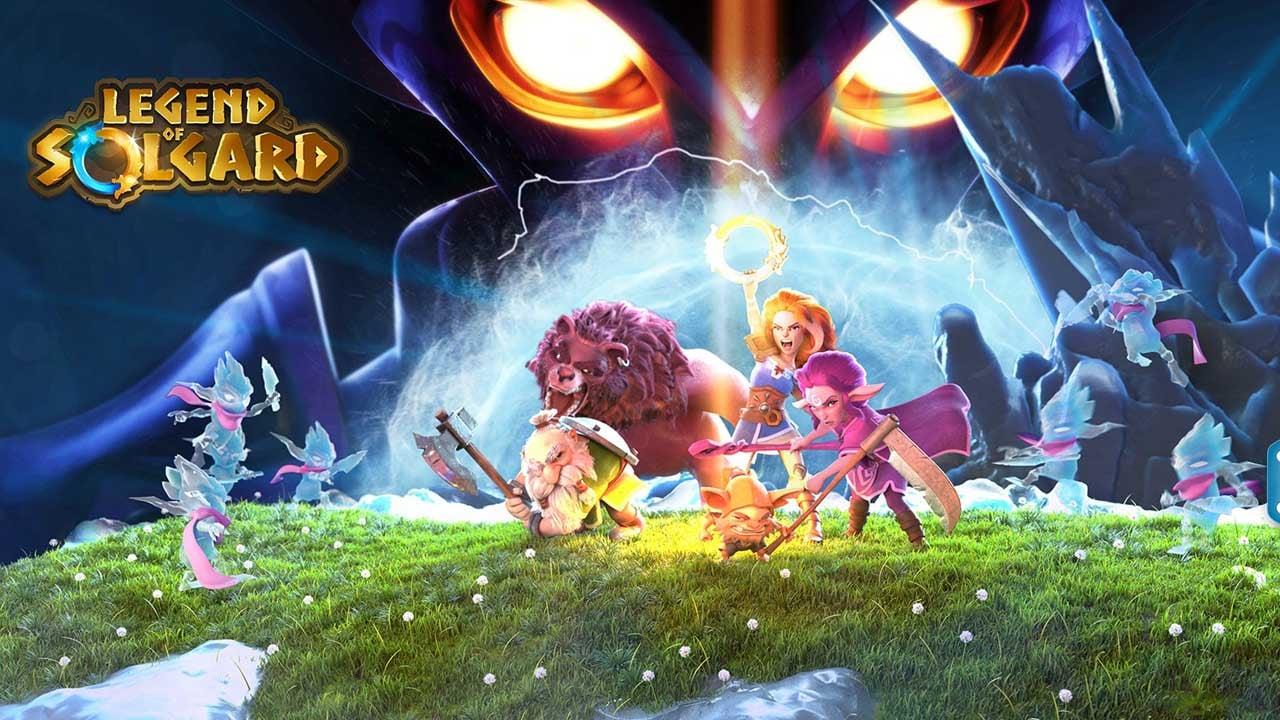 Legend of Solgard poster