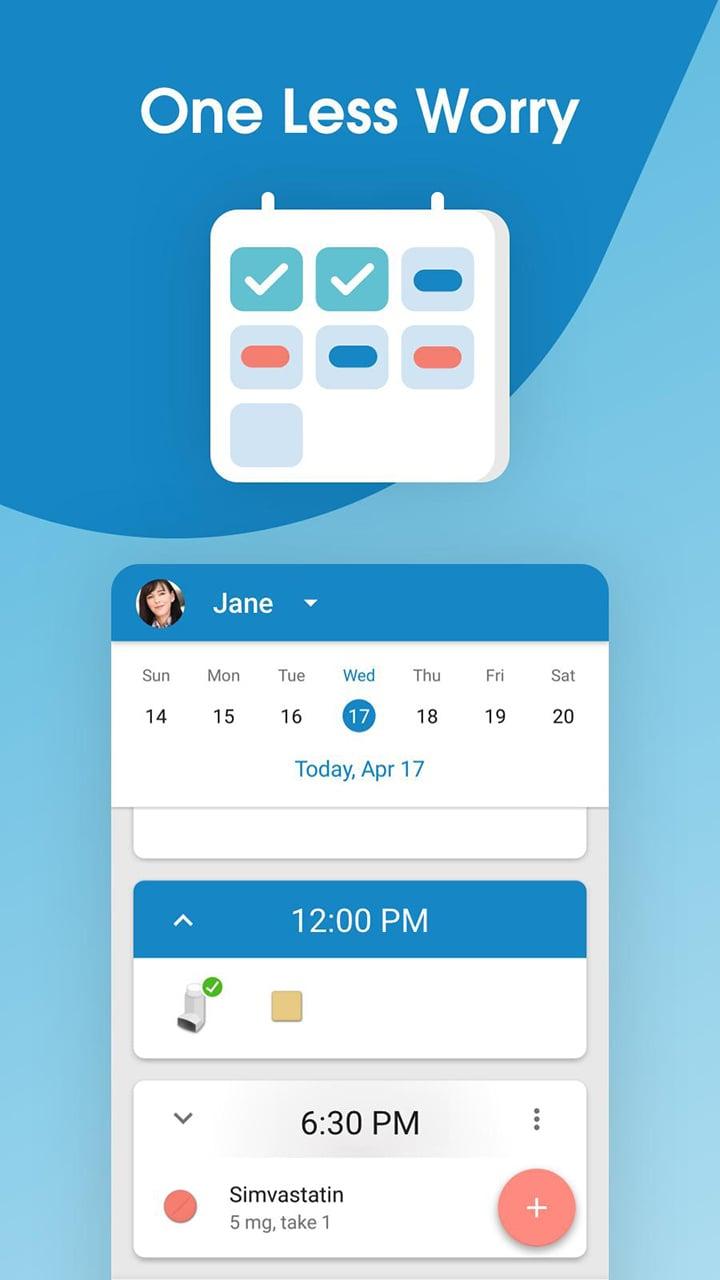 Medisafe Pill Reminder & Medication Tracker screen 2