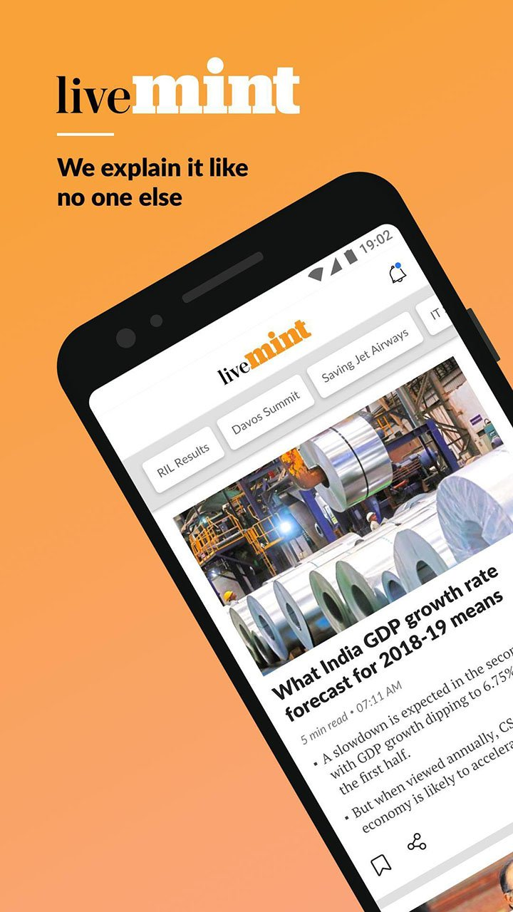 Mint Business News screen 0