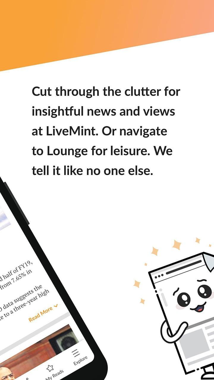 Mint Business News screen 1