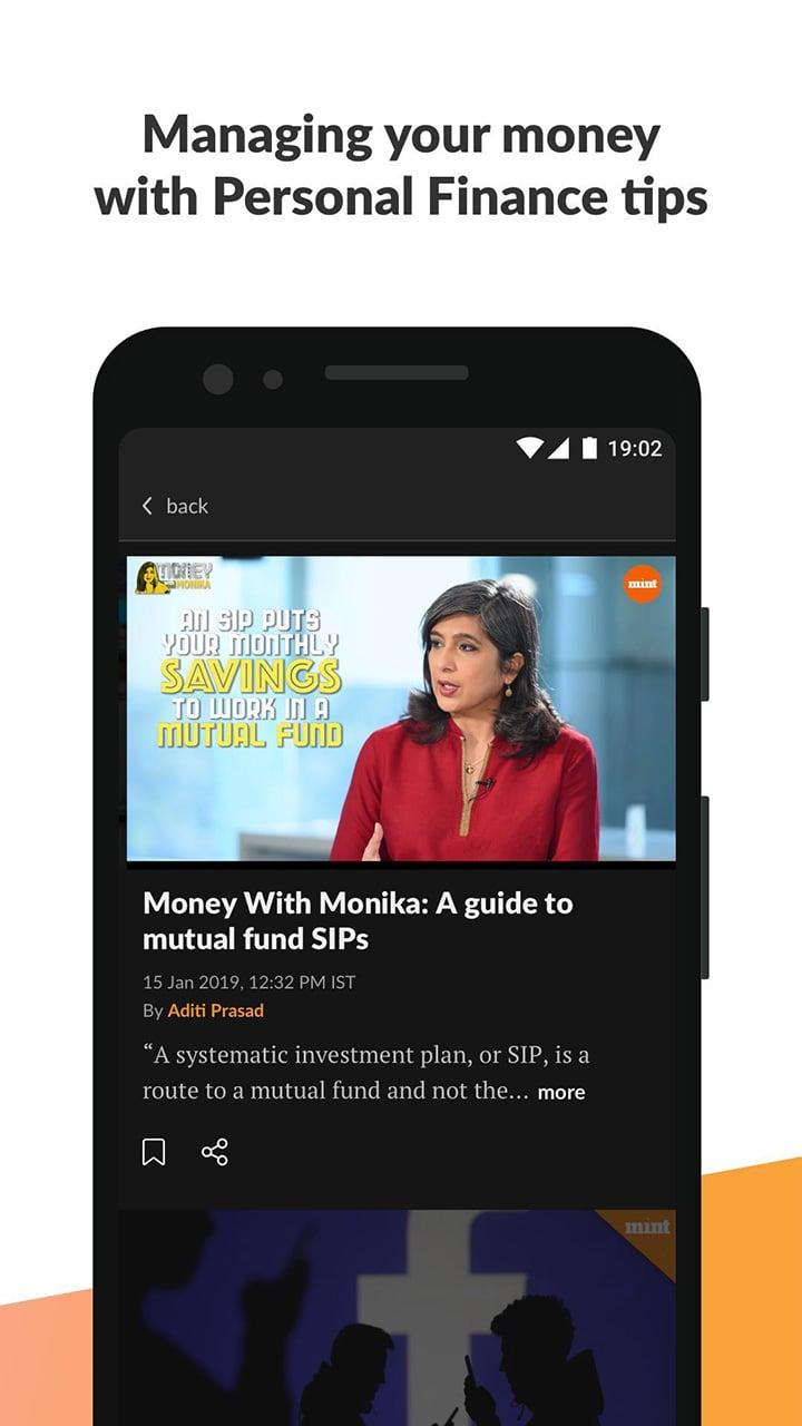 Mint Business News screen 4