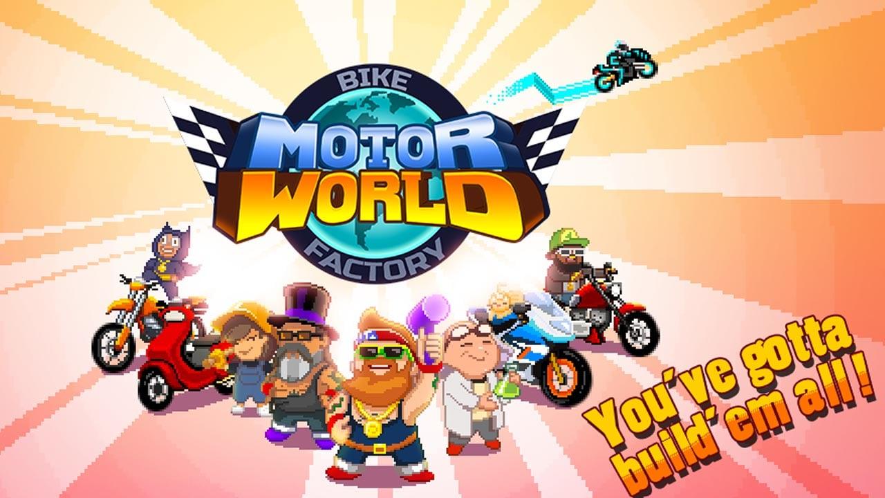 Motor World Bike Factory poster