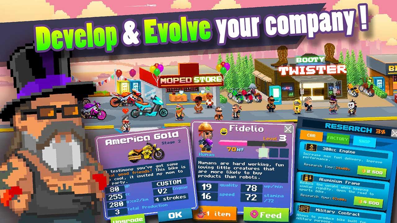 Motor World Bike Factory screen 3
