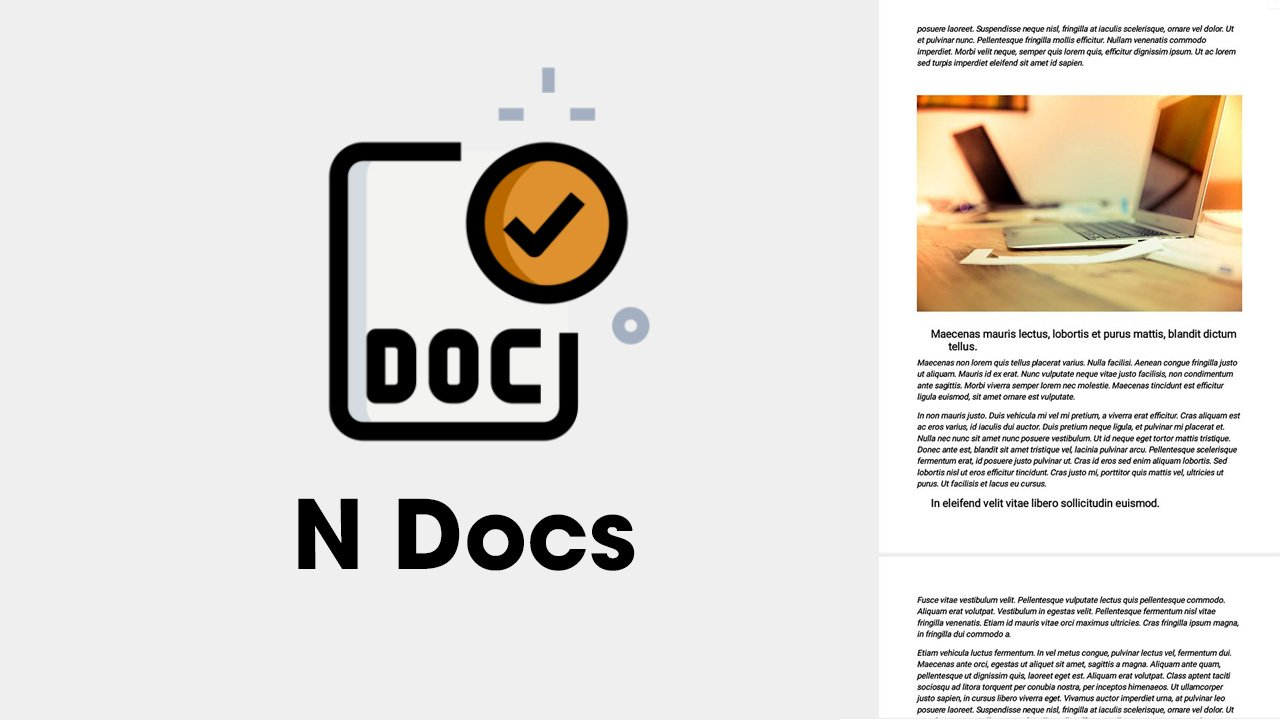 N Docs poster