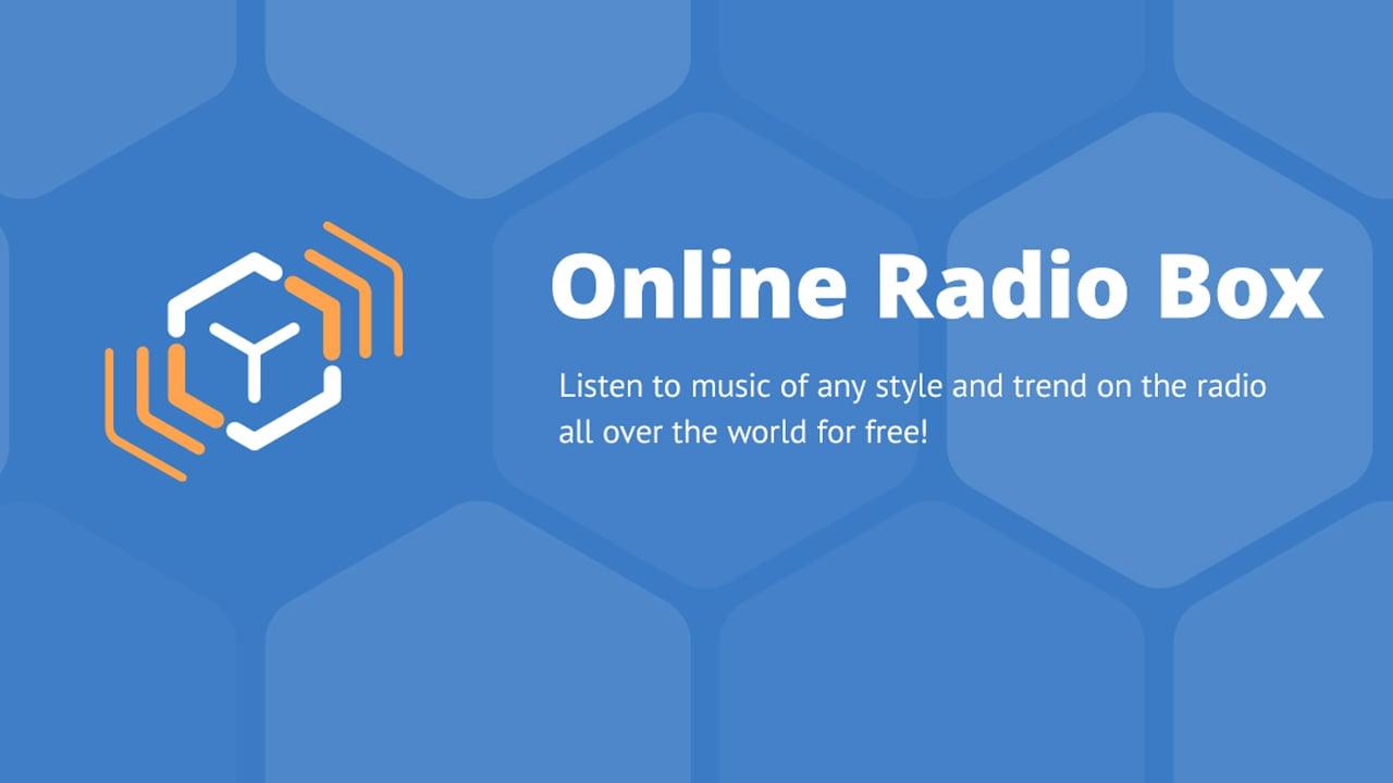 Online Radio Box poster