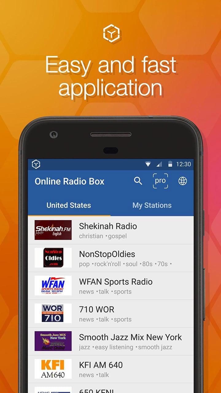 Online Radio Box screen 0