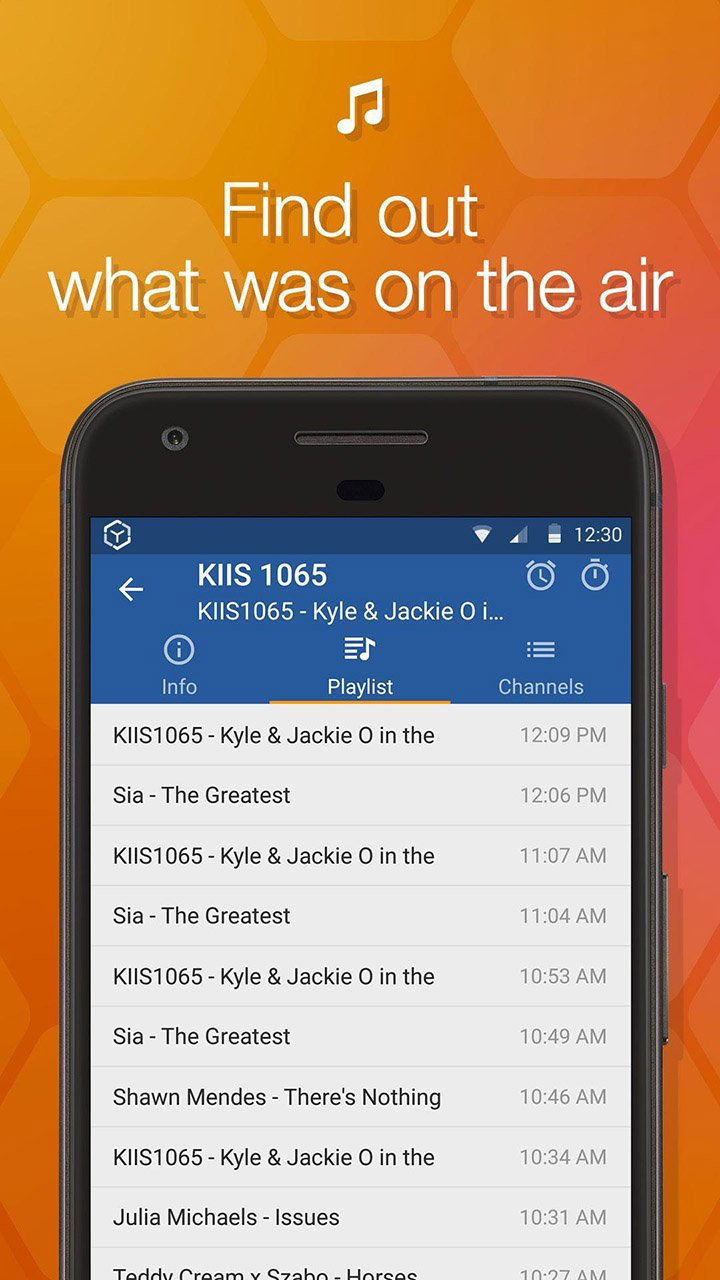 Online Radio Box screen 2