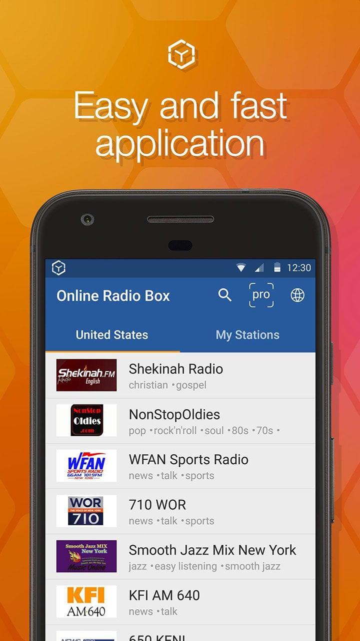Online Radio Box screen 4