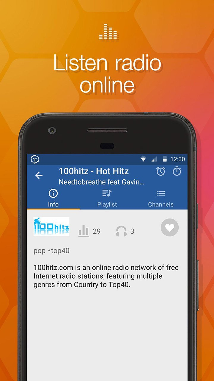 Online Radio Box screen 5