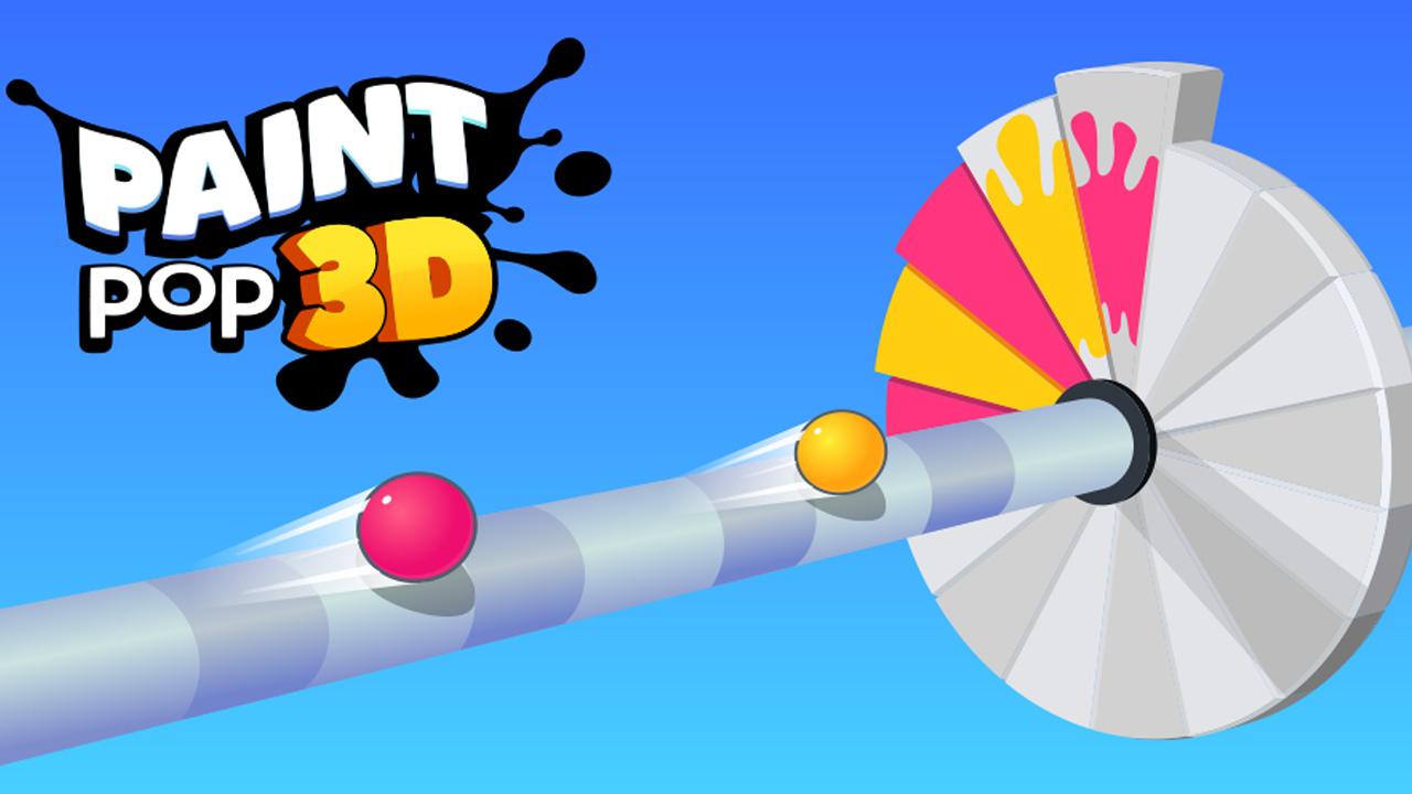 Paint Pop 3D poster