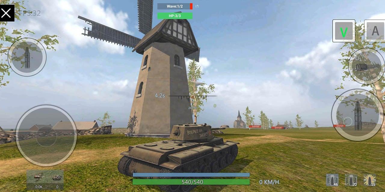Panzer War screen 1