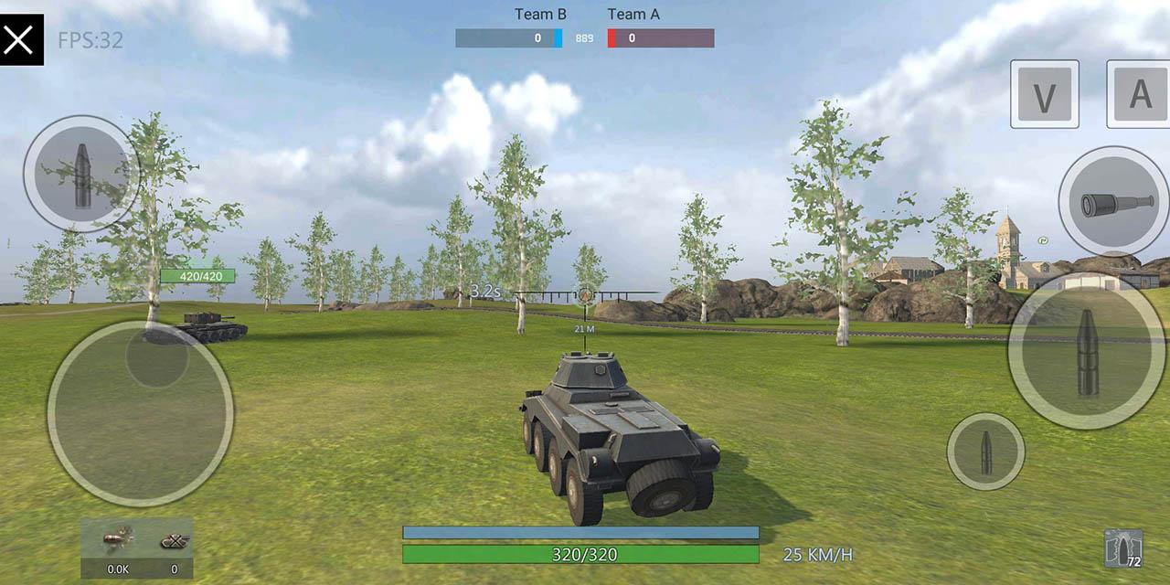 Panzer War screen 2